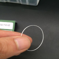 Waterproof O-ring Seal Gasket for 1.0mm Thick Round Watch Crystal Glass 16-40mm