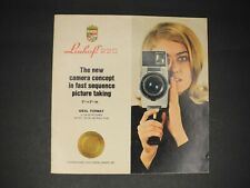 Linhof 220 New Camera Concept Fast Sequence Picture Taking 1969 Camera Brochure