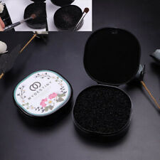 Black Makeup Brush Clean Eye Shadow Sponge Cleaner Make Up Brushes Tool Box Hl