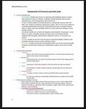 ATI Fundamentals of Nursing Study Guide