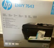 New HP ENVY 7643 Wireless All-In-One Instant Ink Ready Printer