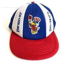 Vtg 1984 Summer OLYMPICS Los Angeles SAM THE EAGLE Snapback Baseball Cap Hat