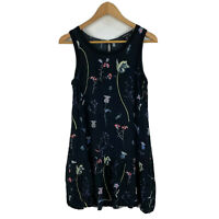 Glassons Womens Dress Size 8 Multicoloured Floral Sleeveless Round Neck
