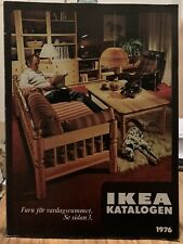 More details for ikea katalogen 1976 (swedish ikea catalogue 1976) good condition