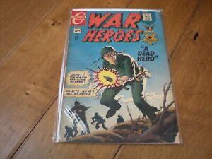 War Heroes #26 (1967) Charlton Comics 'Rocco Rocke Mastroserio'