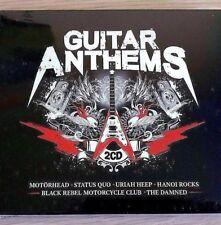 2CD NEW - GUITAR ANTHEMS - Rock Pop Music 2x CD Album Quo Motorhead Magnum Moore