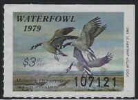 US Stamps - Scott # MO01 - 1979 Missouri Waterfowl Stamp - MNH - filler  (L-907)