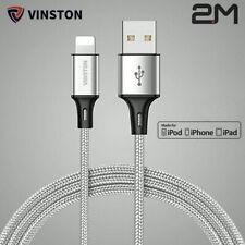 2M Original Vinston iPhone XR XS X 11 8 7 6 USB Cargador Cable de datos de carga rápida