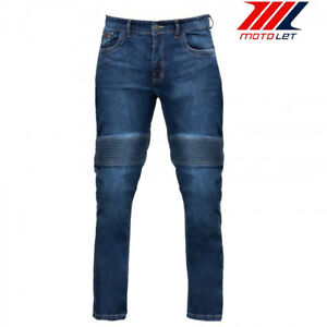 Bela DJ20 Pantalón de Moto Denim Jeans con Protección Certificada