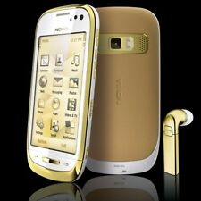 Brand New Nokia C7-00  ORO  - 8GB - LIGHT 18K Gold Plated (Unlocked) Smartphone