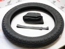"HONDA CB 750 Four k0 k1 k2 FRONT TYRE + Tube 3.25x19 Dunlop ORO Seal ""OLD STYLE"""
