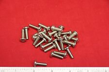 """Lot of 25 Large head 10-3 00004000 2 x 5/8"""" steel screws for rack mounting"""