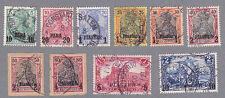 Deutsche Post in der Türkei 12-21 gestempelt
