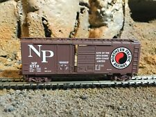 N Scale Micro trains 40' comb opening door boxcar NORTHERN PACIFIC NIB