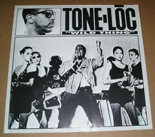 Tone-Loc Wild Thing Promo Original Poster RARE 24x24