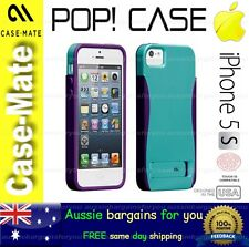 iPhone 5S 5 Case Cover Skin Blue Purple Case Mate Protection Shock Proof Genuine