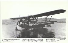 Transport Postcard - Short Singapore 1 G-EBUP - Flying Boat c1907 - 2739