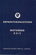 Reparaturanleitung / Werkstatthandbuch BMW R 51 /2 ; R51/2 ; R 51/2 neu