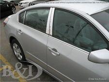 Chrome Stainless Pillar Posts (6 Pieces Set) FITS Nissan Altima 4 Door 2007-2012