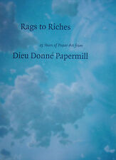 PAPER ART: RAGS TO RICHES - DIEU DONNE PAPERMILL VGC  Rare art craft large s/c