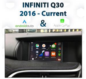 Infiniti Q30 2016 - Current Android Auto & Apple CarPlay Integration