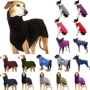 Pet Dog Pullover Clothes Greyhound Whippet Lurcher Winter Jumper Outdoor Sweater