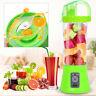 380ml USB Electric Fruit Juicer Smoothie Maker Blender Shaker Bottle Portable