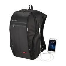 Anmasbox 17.6'' Tablet Laptop Backpack Business Shoulders Bag with USB PORT