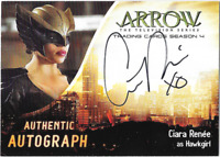 Arrow Season 4 Auto Autograph Card Ciara Renee Hawkgirl CR2 Cryptozoic
