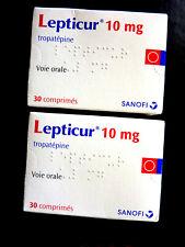Lepticur - Sanofo - symptome parkinson - 30 c - 02/2023 - 2 box
