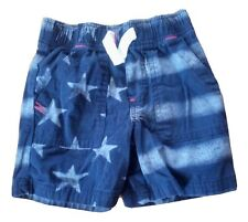 Toddler Shorts 2T Blue Stars & Stripes