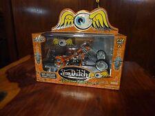 Jada-Toys-Von-Dutch-Kusto m-Cycles-Diecast-1-18-Scal e-Cruel World Great Gift