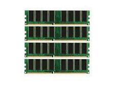 4gb PC3200 DDR 400mhz 184p DESKTOP MEMORY LOW DENSITY NON-ECC RAM !! - 4 X 1GB !