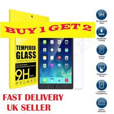 2Pc PREMIUM Tempered Glass Screen Protector For Apple iPad Air 1/5 iPad Air 2/6