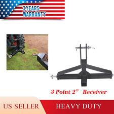 3 Point Receiver Hitch Drawbar Trailer Cat 1 Tractor Adapter For John Deere
