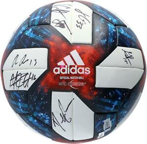 Chicago Fire Signed MU Soccer Ball - 2019 Season with 22 Sigs - A58950