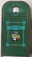 Disney Pin 96066 WDI Disneyland Recycling Bins Haunted Mansion Cast LE 300 #