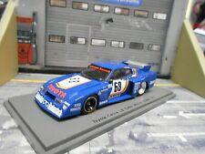 TOYOTA Celica LB Turbo Schnitzer Zolder Winner 1977 DRM #68 Ertl RTL Spark 1:43
