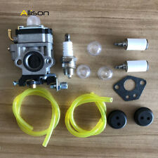 Carburetor F Gas 2 Cycle 43cc Powermate PCV43 Tiller Motor Parts Fule Line Carb