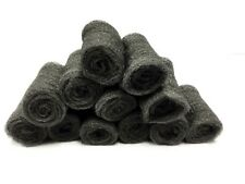 Pack of 12 Pinto X Large Super Fine Heavy Duty Steel Wool Pads Lana De Acero