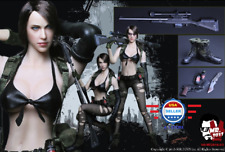 1/6 Metal Gear Solid Quiet Sexy Female Sniper Military Set w/ TWO HEADS