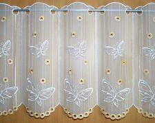 """Scheibengardine Plauener Spitze ® """"Schmetterling"""" 45cm Gardine Rollos Vorhänge"""