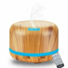 Daroma 500ml Ultrasonic Aroma Diffuser,Remote control,5 In 1cool Mist Humidifier