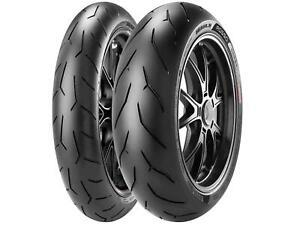 Pirelli 2321800 Diablo Rosso Corsa Tire 200/55ZR-17 Rear