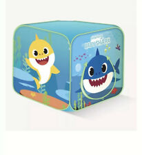 PinkFong Baby Shark Tent Foldable Kids Pop Up Classic Cube Play House Brand New