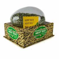 1977 50,000 Nest Egg Shredded U.S. Money Cash Currency Old Toy Plastic