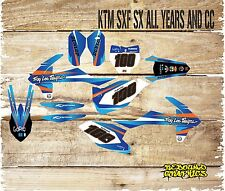 KTM SX SXF 85 125 250 450 FULL GRAPHICS KIT-STICKERS-DECALS-MX-FACTORY