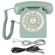 Style Retro Telephone Wired Desktop Vintage Landline Fixed Line for Home Office