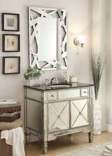 "Benton Collection Ashlyn French Bathroom Vanity & Mirror Set Yr-023G-36/2206 36"""