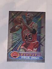 1994-95 Topps Finest Michael Jordan #331 Jersey #45 Bulls With Coating